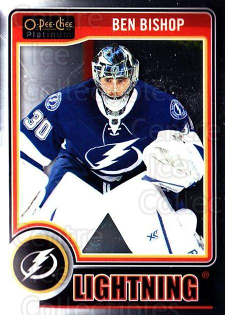 2014-15 O-Pee-Chee Platinum #93 Ben Bishop<br/>4 In Stock - $1.00 each - <a href=https://centericecollectibles.foxycart.com/cart?name=2014-15%20O-Pee-Chee%20Platinum%20%2393%20Ben%20Bishop...&quantity_max=4&price=$1.00&code=671615 class=foxycart> Buy it now! </a>