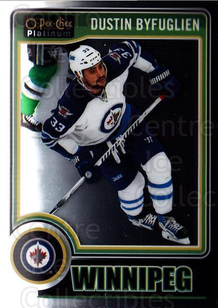 2014-15 O-Pee-Chee Platinum #95 Dustin Byfuglien<br/>4 In Stock - $1.00 each - <a href=https://centericecollectibles.foxycart.com/cart?name=2014-15%20O-Pee-Chee%20Platinum%20%2395%20Dustin%20Byfuglie...&quantity_max=4&price=$1.00&code=671617 class=foxycart> Buy it now! </a>