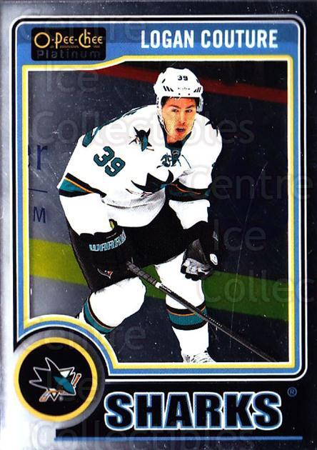 2014-15 O-Pee-Chee Platinum #100 Logan Couture<br/>3 In Stock - $1.00 each - <a href=https://centericecollectibles.foxycart.com/cart?name=2014-15%20O-Pee-Chee%20Platinum%20%23100%20Logan%20Couture...&quantity_max=3&price=$1.00&code=671622 class=foxycart> Buy it now! </a>