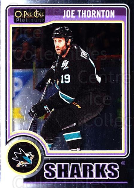 2014-15 O-Pee-Chee Platinum #104 Joe Thornton<br/>5 In Stock - $1.00 each - <a href=https://centericecollectibles.foxycart.com/cart?name=2014-15%20O-Pee-Chee%20Platinum%20%23104%20Joe%20Thornton...&quantity_max=5&price=$1.00&code=671626 class=foxycart> Buy it now! </a>