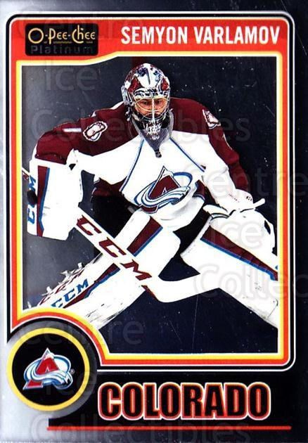 2014-15 O-Pee-Chee Platinum #106 Semyon Varlamov<br/>5 In Stock - $1.00 each - <a href=https://centericecollectibles.foxycart.com/cart?name=2014-15%20O-Pee-Chee%20Platinum%20%23106%20Semyon%20Varlamov...&quantity_max=5&price=$1.00&code=671628 class=foxycart> Buy it now! </a>