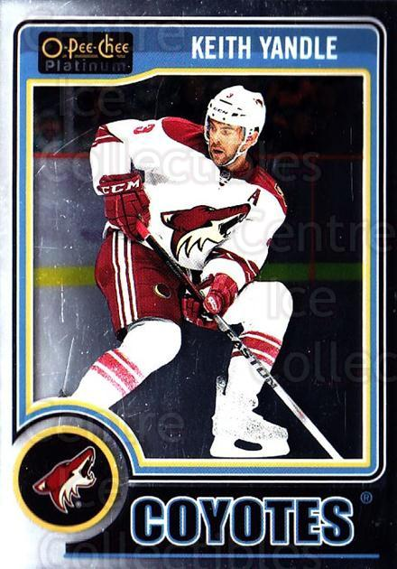 2014-15 O-Pee-Chee Platinum #122 Keith Yandle<br/>5 In Stock - $1.00 each - <a href=https://centericecollectibles.foxycart.com/cart?name=2014-15%20O-Pee-Chee%20Platinum%20%23122%20Keith%20Yandle...&quantity_max=5&price=$1.00&code=671644 class=foxycart> Buy it now! </a>