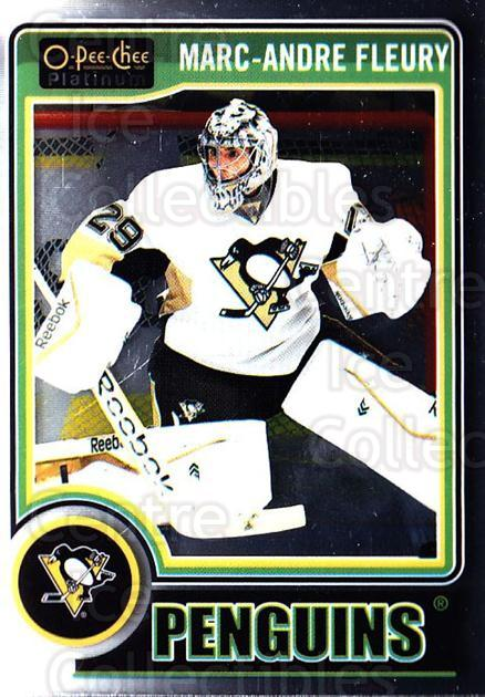 2014-15 O-Pee-Chee Platinum #133 Marc-Andre Fleury<br/>5 In Stock - $2.00 each - <a href=https://centericecollectibles.foxycart.com/cart?name=2014-15%20O-Pee-Chee%20Platinum%20%23133%20Marc-Andre%20Fleu...&quantity_max=5&price=$2.00&code=671655 class=foxycart> Buy it now! </a>
