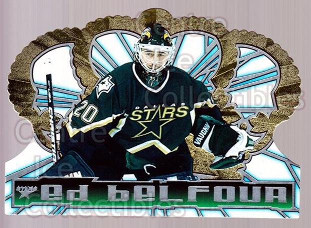 1998-99 Crown Royale #37 Ed Belfour<br/>2 In Stock - $1.00 each - <a href=https://centericecollectibles.foxycart.com/cart?name=1998-99%20Crown%20Royale%20%2337%20Ed%20Belfour...&price=$1.00&code=67165 class=foxycart> Buy it now! </a>