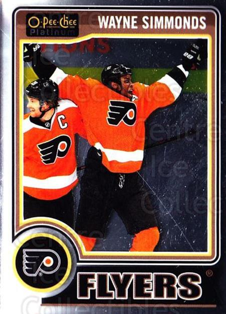 2014-15 O-Pee-Chee Platinum #139 Wayne Simmonds<br/>4 In Stock - $1.00 each - <a href=https://centericecollectibles.foxycart.com/cart?name=2014-15%20O-Pee-Chee%20Platinum%20%23139%20Wayne%20Simmonds...&quantity_max=4&price=$1.00&code=671661 class=foxycart> Buy it now! </a>