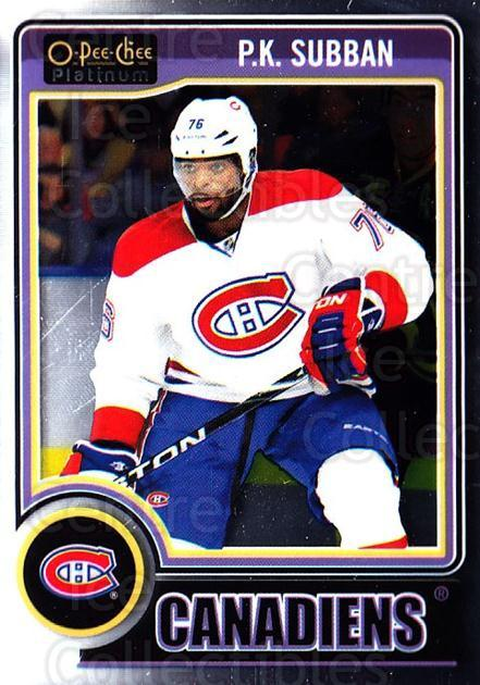 2014-15 O-Pee-Chee Platinum #149 PK Subban<br/>4 In Stock - $1.00 each - <a href=https://centericecollectibles.foxycart.com/cart?name=2014-15%20O-Pee-Chee%20Platinum%20%23149%20PK%20Subban...&quantity_max=4&price=$1.00&code=671671 class=foxycart> Buy it now! </a>