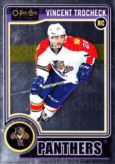2014-15 O-Pee-Chee Platinum #155 Vincent Trocheck<br/>8 In Stock - $3.00 each - <a href=https://centericecollectibles.foxycart.com/cart?name=2014-15%20O-Pee-Chee%20Platinum%20%23155%20Vincent%20Trochec...&quantity_max=8&price=$3.00&code=671677 class=foxycart> Buy it now! </a>