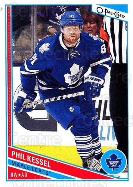 2013-14 O-Pee-Chee #1 Phil Kessel<br/>7 In Stock - $1.00 each - <a href=https://centericecollectibles.foxycart.com/cart?name=2013-14%20O-Pee-Chee%20%231%20Phil%20Kessel...&quantity_max=7&price=$1.00&code=671772 class=foxycart> Buy it now! </a>