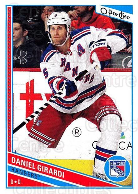 2013-14 O-Pee-Chee #6 Daniel Girardi<br/>7 In Stock - $1.00 each - <a href=https://centericecollectibles.foxycart.com/cart?name=2013-14%20O-Pee-Chee%20%236%20Daniel%20Girardi...&quantity_max=7&price=$1.00&code=671777 class=foxycart> Buy it now! </a>