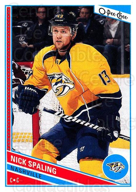2013-14 O-Pee-Chee #12 Nick Spaling<br/>8 In Stock - $1.00 each - <a href=https://centericecollectibles.foxycart.com/cart?name=2013-14%20O-Pee-Chee%20%2312%20Nick%20Spaling...&quantity_max=8&price=$1.00&code=671783 class=foxycart> Buy it now! </a>