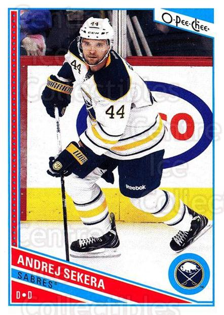 2013-14 O-Pee-Chee #15 Andrej Sekera<br/>6 In Stock - $1.00 each - <a href=https://centericecollectibles.foxycart.com/cart?name=2013-14%20O-Pee-Chee%20%2315%20Andrej%20Sekera...&quantity_max=6&price=$1.00&code=671786 class=foxycart> Buy it now! </a>