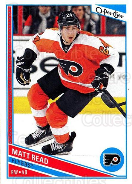 2013-14 O-Pee-Chee #21 Matt Read<br/>7 In Stock - $1.00 each - <a href=https://centericecollectibles.foxycart.com/cart?name=2013-14%20O-Pee-Chee%20%2321%20Matt%20Read...&quantity_max=7&price=$1.00&code=671792 class=foxycart> Buy it now! </a>