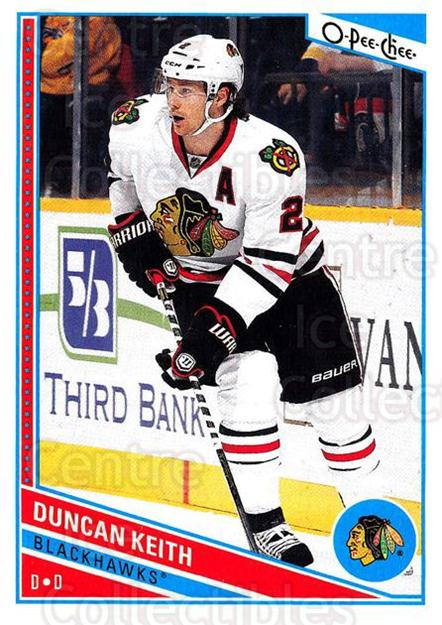 2013-14 O-Pee-Chee #22 Duncan Keith<br/>7 In Stock - $2.00 each - <a href=https://centericecollectibles.foxycart.com/cart?name=2013-14%20O-Pee-Chee%20%2322%20Duncan%20Keith...&quantity_max=7&price=$2.00&code=671793 class=foxycart> Buy it now! </a>