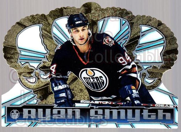 1998-99 Crown Royale #54 Ryan Smyth<br/>5 In Stock - $1.00 each - <a href=https://centericecollectibles.foxycart.com/cart?name=1998-99%20Crown%20Royale%20%2354%20Ryan%20Smyth...&quantity_max=5&price=$1.00&code=67179 class=foxycart> Buy it now! </a>