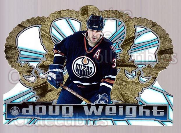 1998-99 Crown Royale #55 Doug Weight<br/>6 In Stock - $1.00 each - <a href=https://centericecollectibles.foxycart.com/cart?name=1998-99%20Crown%20Royale%20%2355%20Doug%20Weight...&quantity_max=6&price=$1.00&code=67180 class=foxycart> Buy it now! </a>