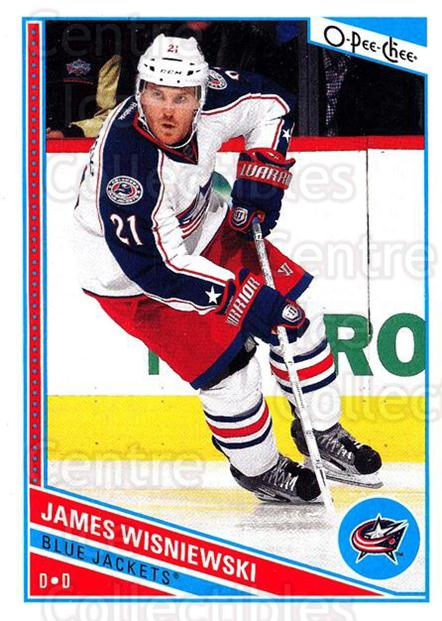 2013-14 O-Pee-Chee #45 James Wisniewski<br/>7 In Stock - $1.00 each - <a href=https://centericecollectibles.foxycart.com/cart?name=2013-14%20O-Pee-Chee%20%2345%20James%20Wisniewsk...&quantity_max=7&price=$1.00&code=671816 class=foxycart> Buy it now! </a>