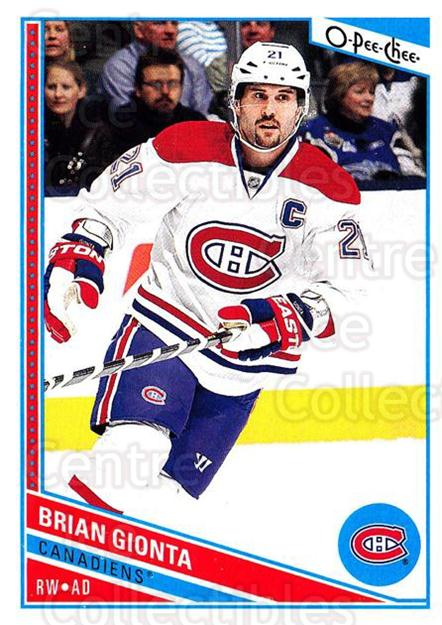 2013-14 O-Pee-Chee #46 Brian Gionta<br/>7 In Stock - $1.00 each - <a href=https://centericecollectibles.foxycart.com/cart?name=2013-14%20O-Pee-Chee%20%2346%20Brian%20Gionta...&quantity_max=7&price=$1.00&code=671817 class=foxycart> Buy it now! </a>