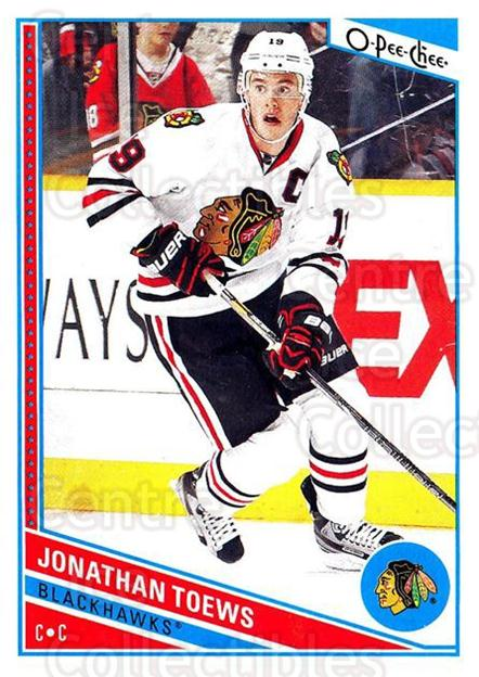 2013-14 O-Pee-Chee #49 Jonathan Toews<br/>5 In Stock - $2.00 each - <a href=https://centericecollectibles.foxycart.com/cart?name=2013-14%20O-Pee-Chee%20%2349%20Jonathan%20Toews...&quantity_max=5&price=$2.00&code=671820 class=foxycart> Buy it now! </a>