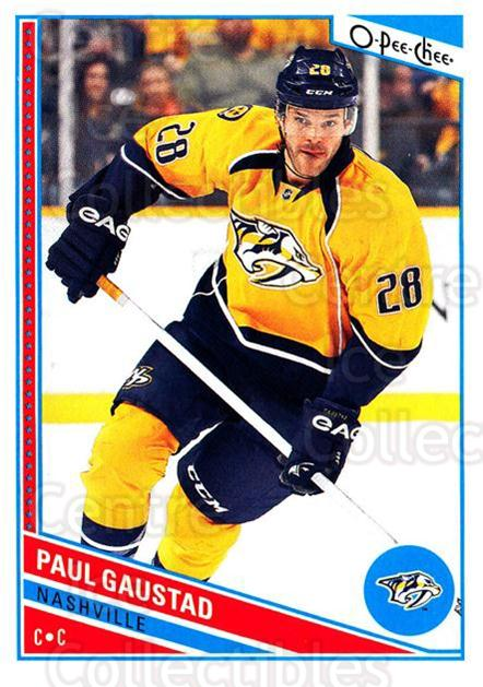 2013-14 O-Pee-Chee #54 Paul Gaustad<br/>7 In Stock - $1.00 each - <a href=https://centericecollectibles.foxycart.com/cart?name=2013-14%20O-Pee-Chee%20%2354%20Paul%20Gaustad...&quantity_max=7&price=$1.00&code=671825 class=foxycart> Buy it now! </a>