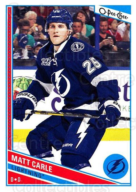 2013-14 O-Pee-Chee #58 Matt Carle<br/>8 In Stock - $1.00 each - <a href=https://centericecollectibles.foxycart.com/cart?name=2013-14%20O-Pee-Chee%20%2358%20Matt%20Carle...&quantity_max=8&price=$1.00&code=671829 class=foxycart> Buy it now! </a>