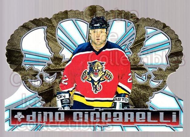 1998-99 Crown Royale #57 Dino Ciccarelli<br/>6 In Stock - $1.00 each - <a href=https://centericecollectibles.foxycart.com/cart?name=1998-99%20Crown%20Royale%20%2357%20Dino%20Ciccarelli...&quantity_max=6&price=$1.00&code=67182 class=foxycart> Buy it now! </a>