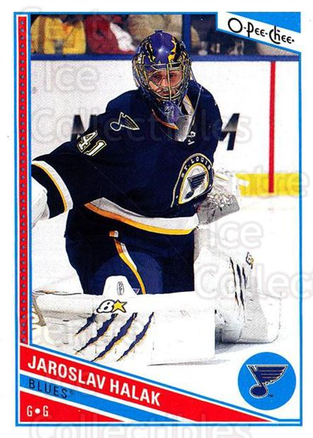2013-14 O-Pee-Chee #71 Jaroslav Halak<br/>7 In Stock - $1.00 each - <a href=https://centericecollectibles.foxycart.com/cart?name=2013-14%20O-Pee-Chee%20%2371%20Jaroslav%20Halak...&quantity_max=7&price=$1.00&code=671842 class=foxycart> Buy it now! </a>