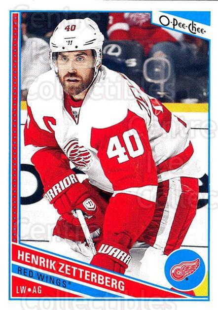 2013-14 O-Pee-Chee #74 Henrik Zetterberg<br/>7 In Stock - $2.00 each - <a href=https://centericecollectibles.foxycart.com/cart?name=2013-14%20O-Pee-Chee%20%2374%20Henrik%20Zetterbe...&quantity_max=7&price=$2.00&code=671845 class=foxycart> Buy it now! </a>