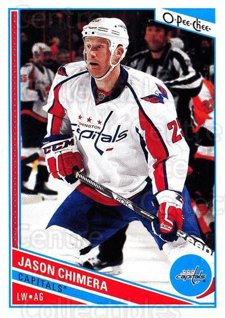 2013-14 O-Pee-Chee #75 Jason Chimera<br/>7 In Stock - $1.00 each - <a href=https://centericecollectibles.foxycart.com/cart?name=2013-14%20O-Pee-Chee%20%2375%20Jason%20Chimera...&quantity_max=7&price=$1.00&code=671846 class=foxycart> Buy it now! </a>