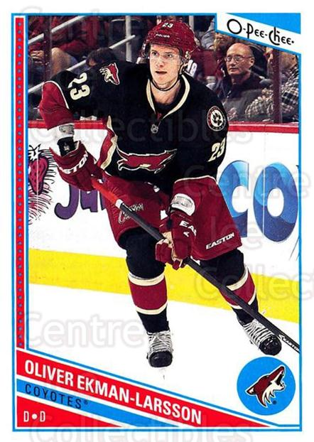 2013-14 O-Pee-Chee #78 Oliver Ekman-Larsson<br/>7 In Stock - $1.00 each - <a href=https://centericecollectibles.foxycart.com/cart?name=2013-14%20O-Pee-Chee%20%2378%20Oliver%20Ekman-La...&quantity_max=7&price=$1.00&code=671849 class=foxycart> Buy it now! </a>