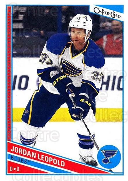 2013-14 O-Pee-Chee #82 Jordan Leopold<br/>6 In Stock - $1.00 each - <a href=https://centericecollectibles.foxycart.com/cart?name=2013-14%20O-Pee-Chee%20%2382%20Jordan%20Leopold...&quantity_max=6&price=$1.00&code=671853 class=foxycart> Buy it now! </a>