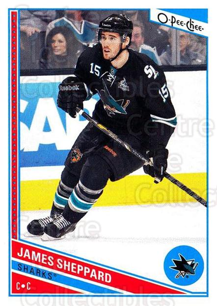 2013-14 O-Pee-Chee #99 James Sheppard<br/>4 In Stock - $1.00 each - <a href=https://centericecollectibles.foxycart.com/cart?name=2013-14%20O-Pee-Chee%20%2399%20James%20Sheppard...&quantity_max=4&price=$1.00&code=671870 class=foxycart> Buy it now! </a>