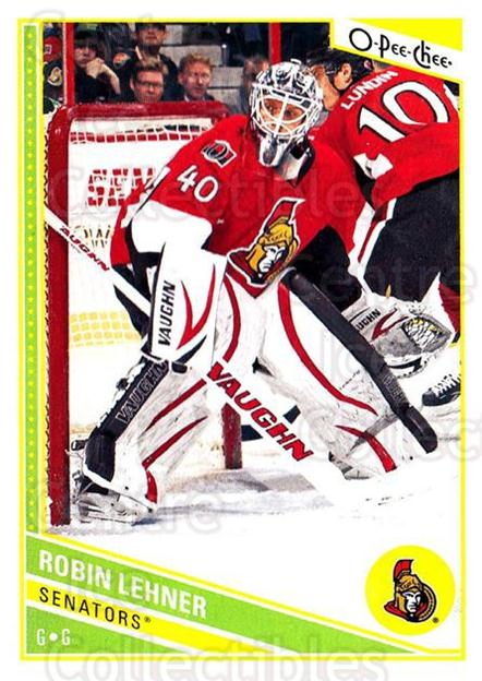 2013-14 O-Pee-Chee #109 Robin Lehner<br/>7 In Stock - $1.00 each - <a href=https://centericecollectibles.foxycart.com/cart?name=2013-14%20O-Pee-Chee%20%23109%20Robin%20Lehner...&quantity_max=7&price=$1.00&code=671880 class=foxycart> Buy it now! </a>