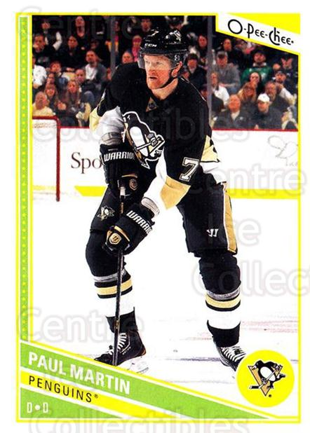 2013-14 O-Pee-Chee #115 Paul Martin<br/>7 In Stock - $1.00 each - <a href=https://centericecollectibles.foxycart.com/cart?name=2013-14%20O-Pee-Chee%20%23115%20Paul%20Martin...&quantity_max=7&price=$1.00&code=671886 class=foxycart> Buy it now! </a>