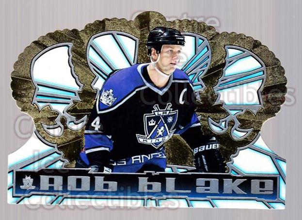 1998-99 Crown Royale #62 Rob Blake<br/>5 In Stock - $1.00 each - <a href=https://centericecollectibles.foxycart.com/cart?name=1998-99%20Crown%20Royale%20%2362%20Rob%20Blake...&quantity_max=5&price=$1.00&code=67188 class=foxycart> Buy it now! </a>