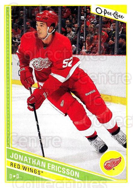 2013-14 O-Pee-Chee #125 Jonathan Ericsson<br/>7 In Stock - $1.00 each - <a href=https://centericecollectibles.foxycart.com/cart?name=2013-14%20O-Pee-Chee%20%23125%20Jonathan%20Ericss...&quantity_max=7&price=$1.00&code=671896 class=foxycart> Buy it now! </a>