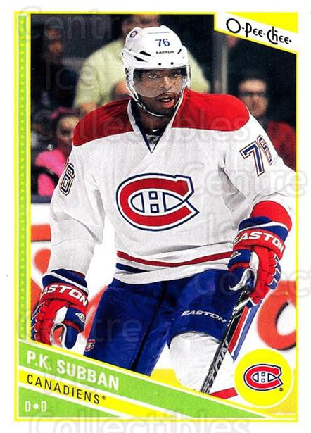 2013-14 O-Pee-Chee #127 PK Subban<br/>6 In Stock - $1.00 each - <a href=https://centericecollectibles.foxycart.com/cart?name=2013-14%20O-Pee-Chee%20%23127%20PK%20Subban...&quantity_max=6&price=$1.00&code=671898 class=foxycart> Buy it now! </a>