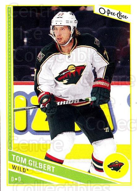 2013-14 O-Pee-Chee #131 Tom Gilbert<br/>7 In Stock - $1.00 each - <a href=https://centericecollectibles.foxycart.com/cart?name=2013-14%20O-Pee-Chee%20%23131%20Tom%20Gilbert...&quantity_max=7&price=$1.00&code=671902 class=foxycart> Buy it now! </a>