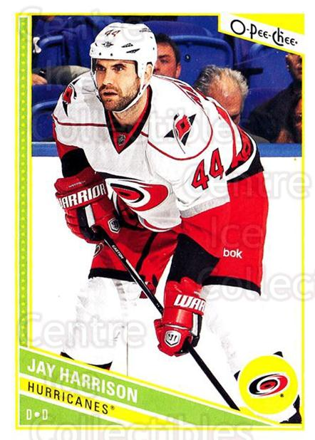 2013-14 O-Pee-Chee #134 Jay Harrison<br/>7 In Stock - $1.00 each - <a href=https://centericecollectibles.foxycart.com/cart?name=2013-14%20O-Pee-Chee%20%23134%20Jay%20Harrison...&quantity_max=7&price=$1.00&code=671905 class=foxycart> Buy it now! </a>