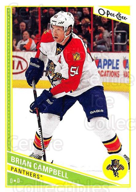 2013-14 O-Pee-Chee #153 Brian Campbell<br/>7 In Stock - $1.00 each - <a href=https://centericecollectibles.foxycart.com/cart?name=2013-14%20O-Pee-Chee%20%23153%20Brian%20Campbell...&quantity_max=7&price=$1.00&code=671924 class=foxycart> Buy it now! </a>
