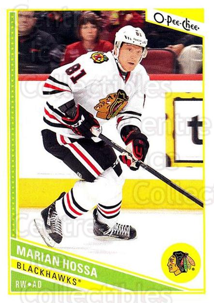 2013-14 O-Pee-Chee #168 Marian Hossa<br/>5 In Stock - $1.00 each - <a href=https://centericecollectibles.foxycart.com/cart?name=2013-14%20O-Pee-Chee%20%23168%20Marian%20Hossa...&quantity_max=5&price=$1.00&code=671939 class=foxycart> Buy it now! </a>