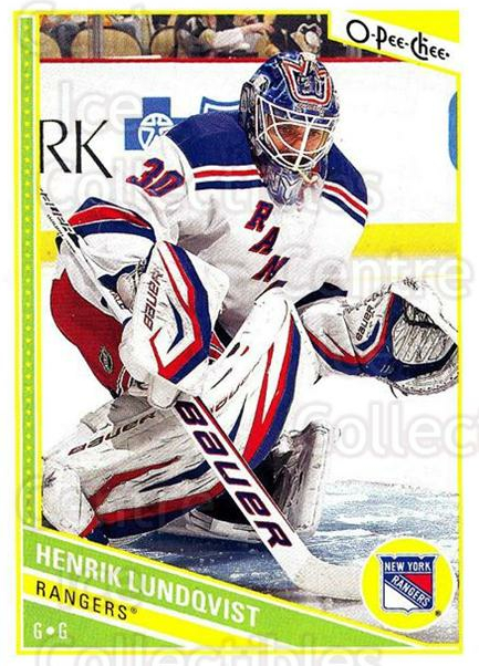 2013-14 O-Pee-Chee #173 Henrik Lundqvist<br/>5 In Stock - $2.00 each - <a href=https://centericecollectibles.foxycart.com/cart?name=2013-14%20O-Pee-Chee%20%23173%20Henrik%20Lundqvis...&quantity_max=5&price=$2.00&code=671944 class=foxycart> Buy it now! </a>