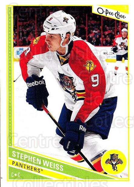 2013-14 O-Pee-Chee #175 Stephen Weiss<br/>7 In Stock - $1.00 each - <a href=https://centericecollectibles.foxycart.com/cart?name=2013-14%20O-Pee-Chee%20%23175%20Stephen%20Weiss...&quantity_max=7&price=$1.00&code=671946 class=foxycart> Buy it now! </a>