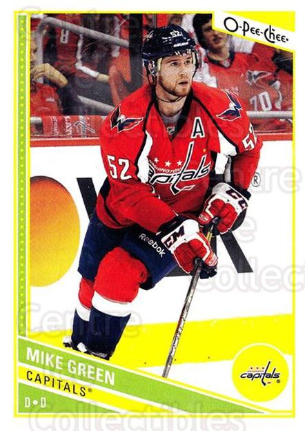 2013-14 O-Pee-Chee #190 Mike Green<br/>7 In Stock - $1.00 each - <a href=https://centericecollectibles.foxycart.com/cart?name=2013-14%20O-Pee-Chee%20%23190%20Mike%20Green...&quantity_max=7&price=$1.00&code=671961 class=foxycart> Buy it now! </a>