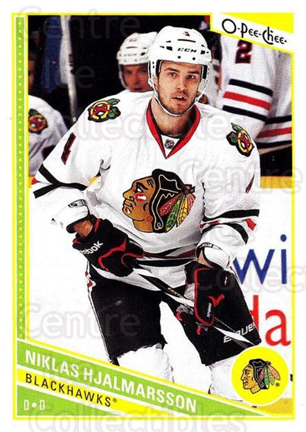 2013-14 O-Pee-Chee #195 Niklas Hjalmarsson<br/>6 In Stock - $1.00 each - <a href=https://centericecollectibles.foxycart.com/cart?name=2013-14%20O-Pee-Chee%20%23195%20Niklas%20Hjalmars...&quantity_max=6&price=$1.00&code=671966 class=foxycart> Buy it now! </a>