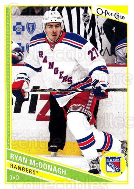 2013-14 O-Pee-Chee #197 Ryan McDonagh<br/>7 In Stock - $1.00 each - <a href=https://centericecollectibles.foxycart.com/cart?name=2013-14%20O-Pee-Chee%20%23197%20Ryan%20McDonagh...&quantity_max=7&price=$1.00&code=671968 class=foxycart> Buy it now! </a>
