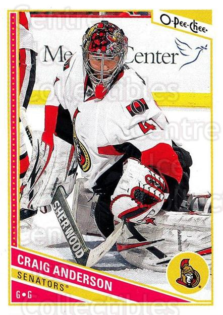 2013-14 O-Pee-Chee #201 Craig Anderson<br/>7 In Stock - $1.00 each - <a href=https://centericecollectibles.foxycart.com/cart?name=2013-14%20O-Pee-Chee%20%23201%20Craig%20Anderson...&quantity_max=7&price=$1.00&code=671972 class=foxycart> Buy it now! </a>