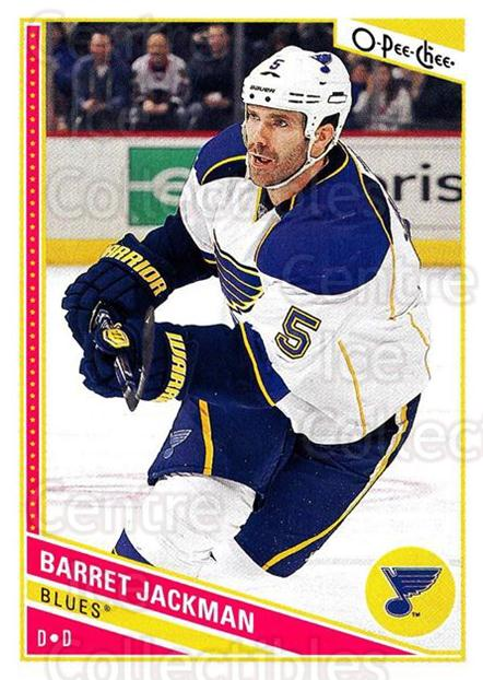 2013-14 O-Pee-Chee #208 Barret Jackman<br/>7 In Stock - $1.00 each - <a href=https://centericecollectibles.foxycart.com/cart?name=2013-14%20O-Pee-Chee%20%23208%20Barret%20Jackman...&quantity_max=7&price=$1.00&code=671979 class=foxycart> Buy it now! </a>