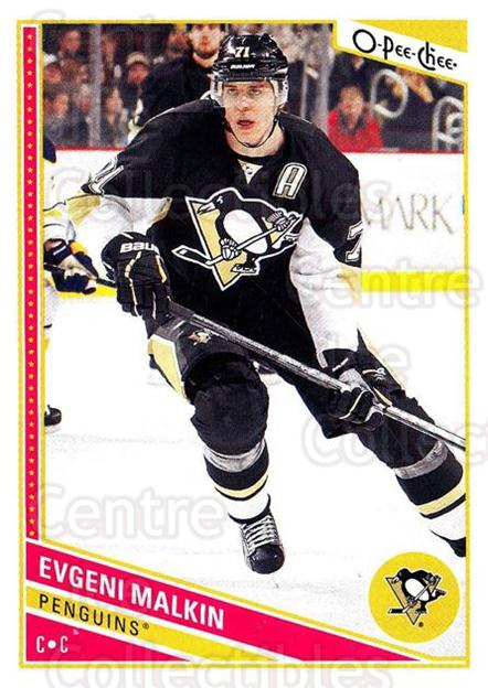 2013-14 O-Pee-Chee #209 Evgeni Malkin<br/>7 In Stock - $2.00 each - <a href=https://centericecollectibles.foxycart.com/cart?name=2013-14%20O-Pee-Chee%20%23209%20Evgeni%20Malkin...&quantity_max=7&price=$2.00&code=671980 class=foxycart> Buy it now! </a>