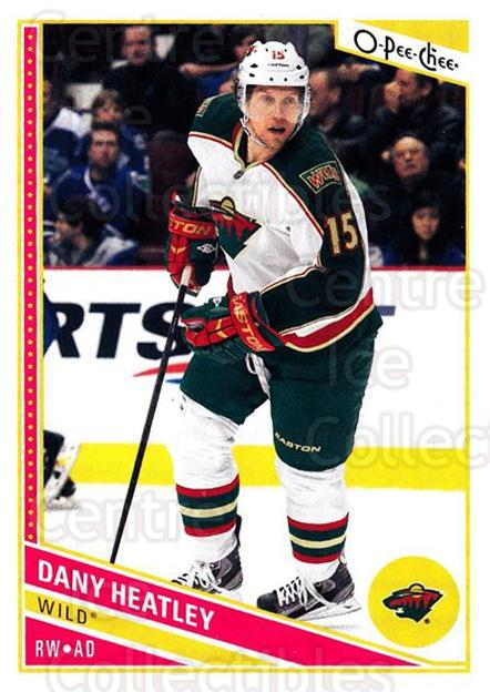 2013-14 O-Pee-Chee #210 Dany Heatley<br/>6 In Stock - $1.00 each - <a href=https://centericecollectibles.foxycart.com/cart?name=2013-14%20O-Pee-Chee%20%23210%20Dany%20Heatley...&quantity_max=6&price=$1.00&code=671981 class=foxycart> Buy it now! </a>