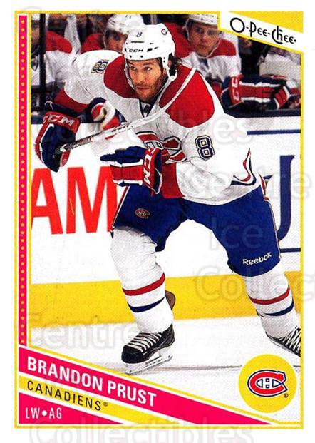 2013-14 O-Pee-Chee #220 Brandon Prust<br/>7 In Stock - $1.00 each - <a href=https://centericecollectibles.foxycart.com/cart?name=2013-14%20O-Pee-Chee%20%23220%20Brandon%20Prust...&quantity_max=7&price=$1.00&code=671991 class=foxycart> Buy it now! </a>